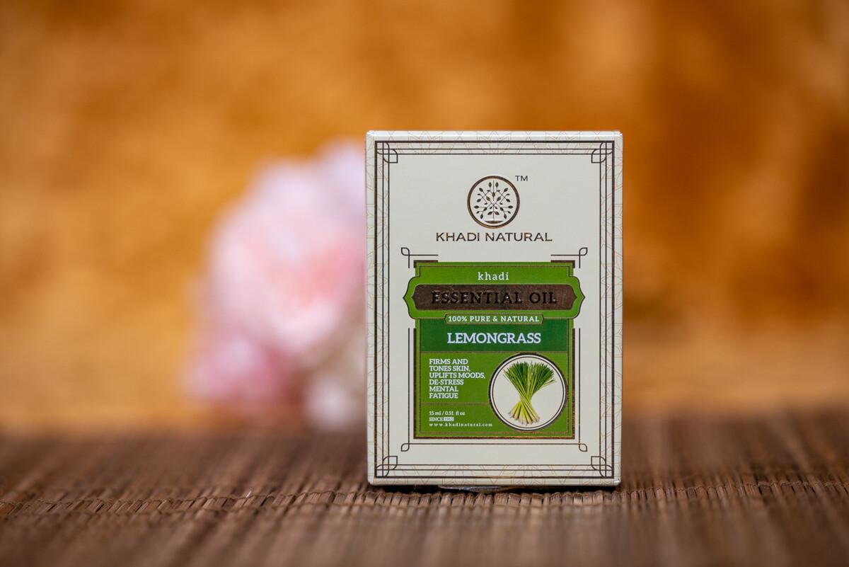 Khadi Herbal Pure Essential Oil 'Lemongrass'