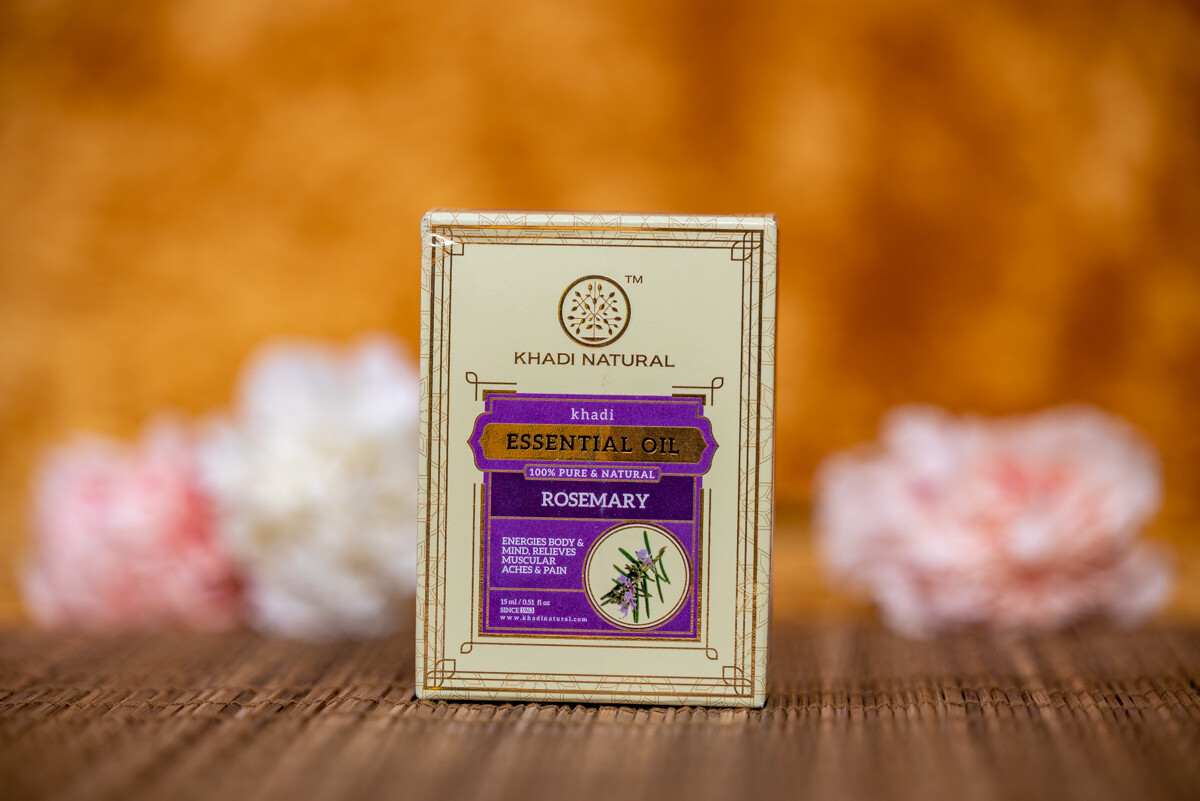 Khadi Herbal Pure Essential Oil 'Rosemary'