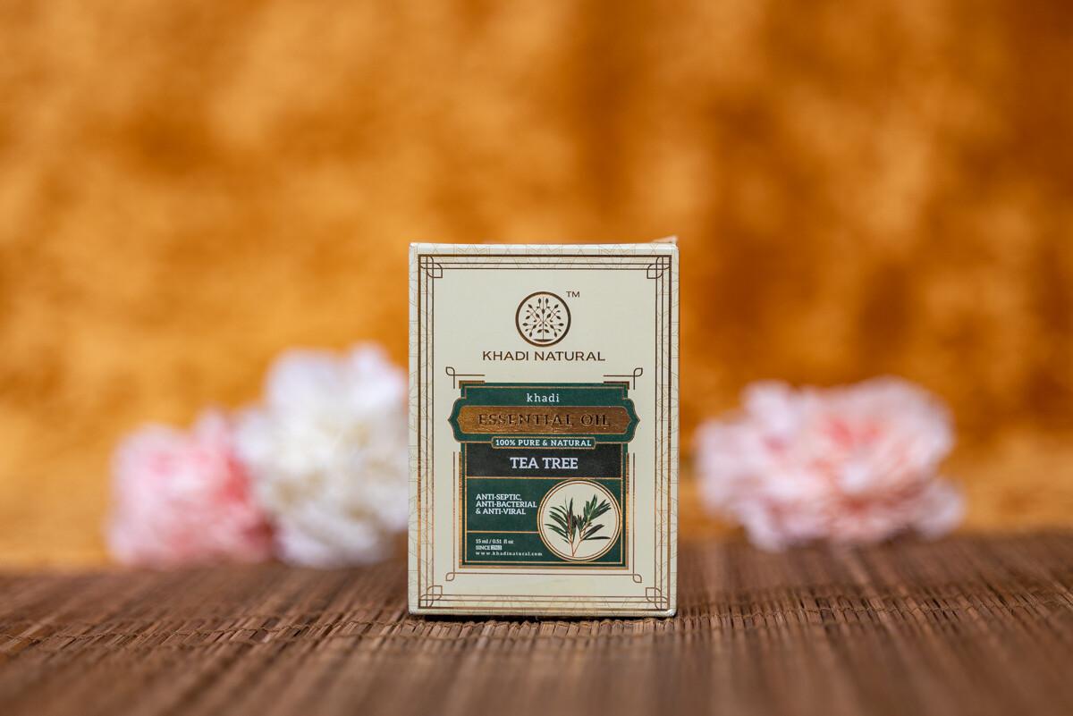 Khadi Herbal Pure Essential Oil 'Tea tree'