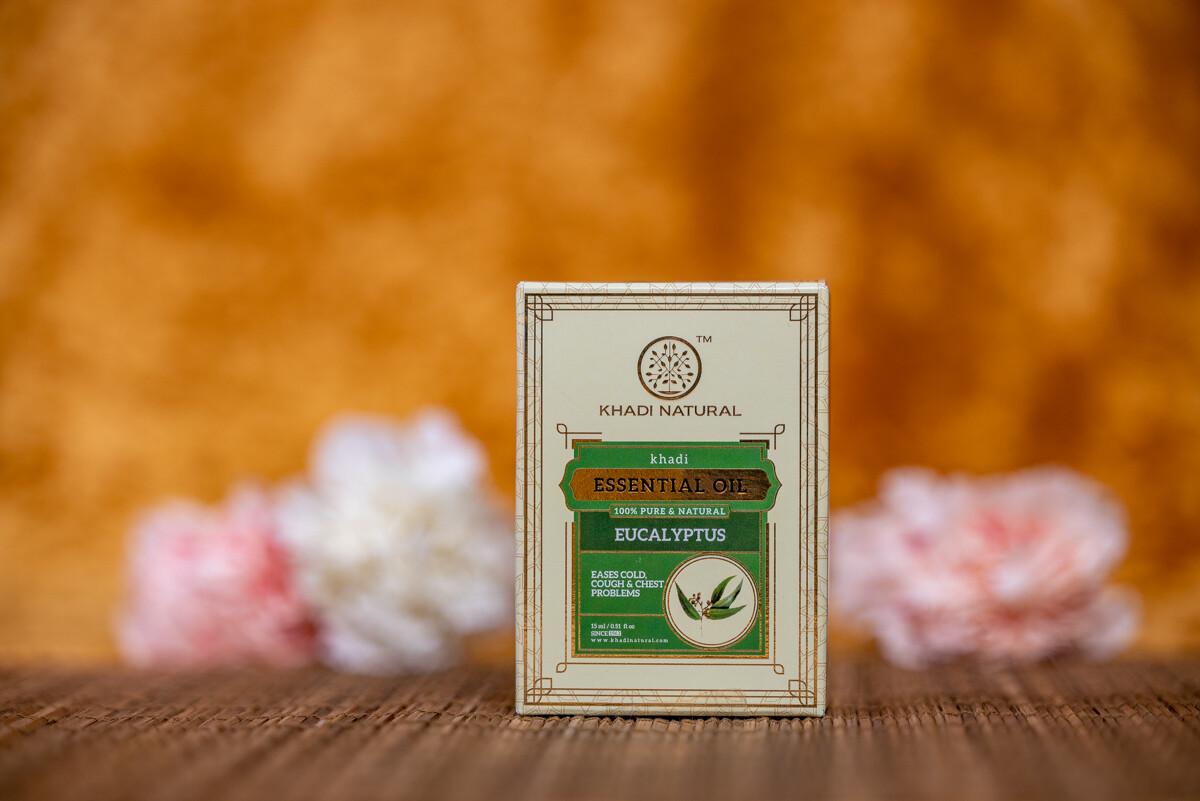 Khadi Herbal Pure Essential Oil 'Eucalyptus'