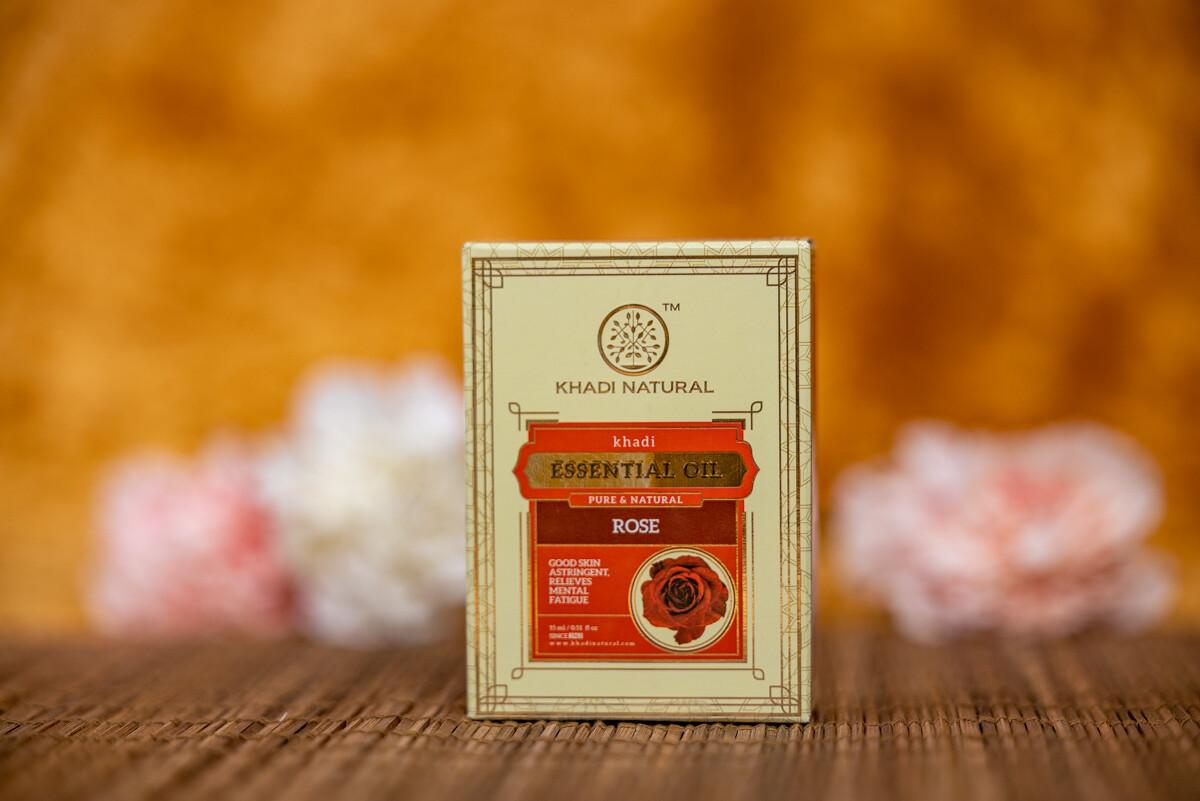 Khadi Herbal Pure Essential Oil 'Rose'