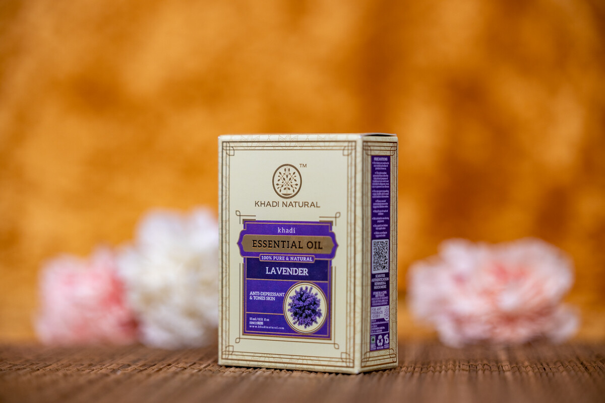 Khadi Herbal Pure Essential Oil 'Lavender'