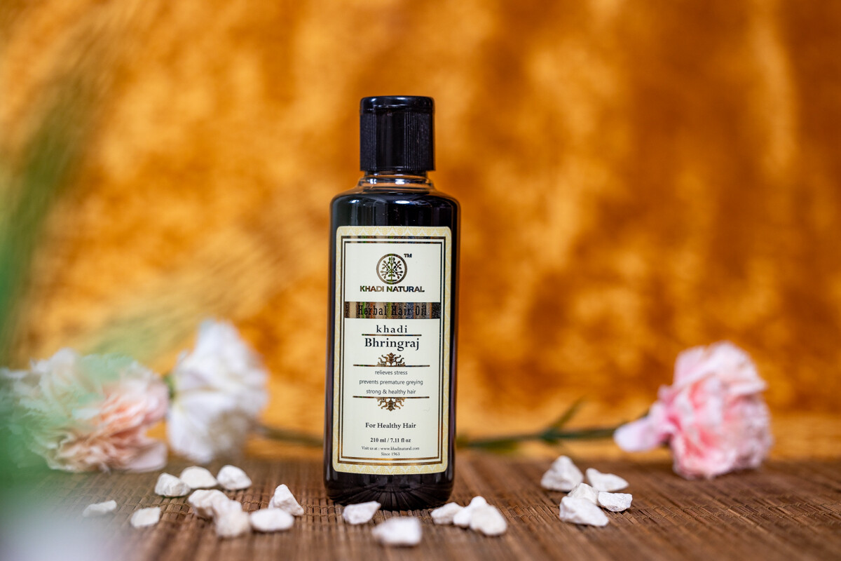 Khadi Herbal Hair Oil 'Bhringraj'