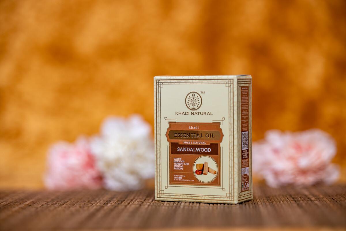 Khadi Herbal Pure Essential Oil 'Sandalwood'