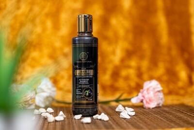 Khadi Herbal Hair Shampoo, Activated Bamboo Charcoal