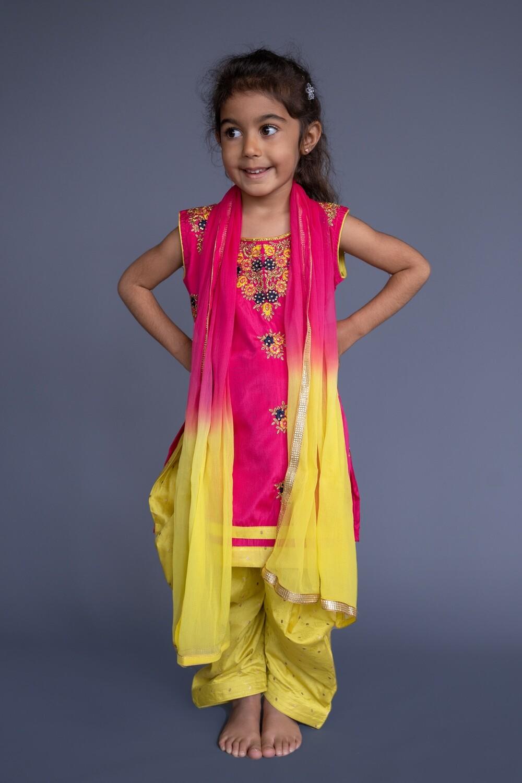 Salwar Suit Set, 4-5 years