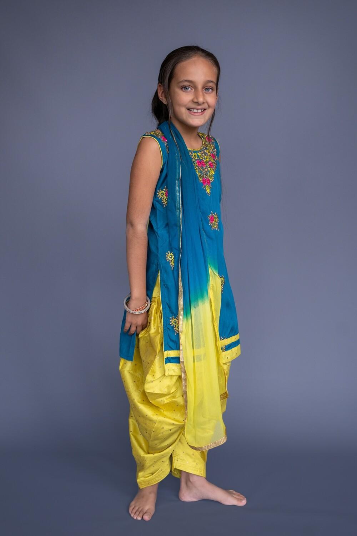 Salwar Suit Set, 7-8 years