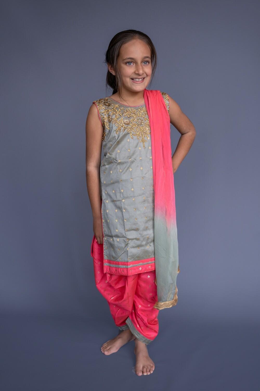 Salwar Suit Set, 9-10 years