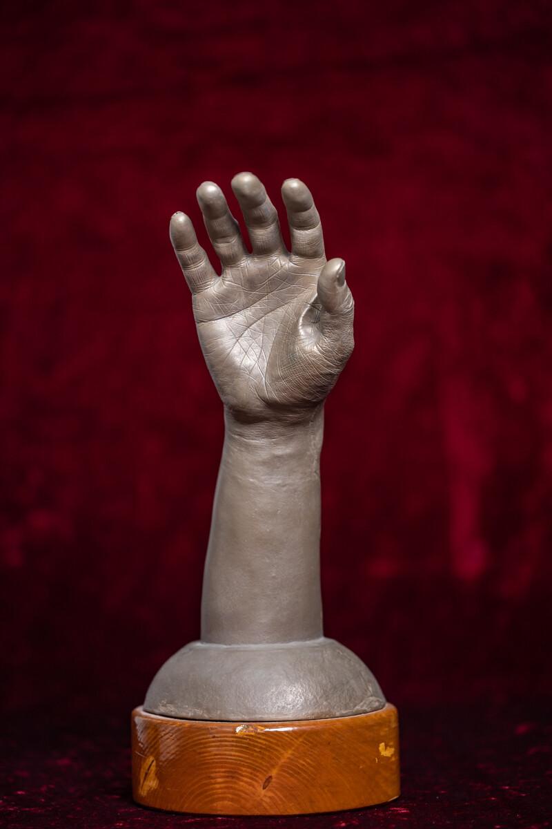 3D hand 'Paramahamsa Vishwananda'