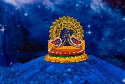 Decorative Deity Asana - Small