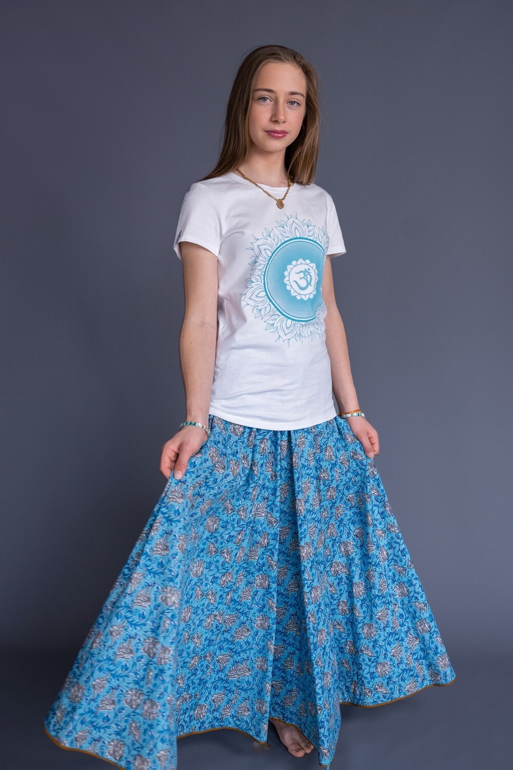 Skirts in Blue, size 'S' (EU 36)