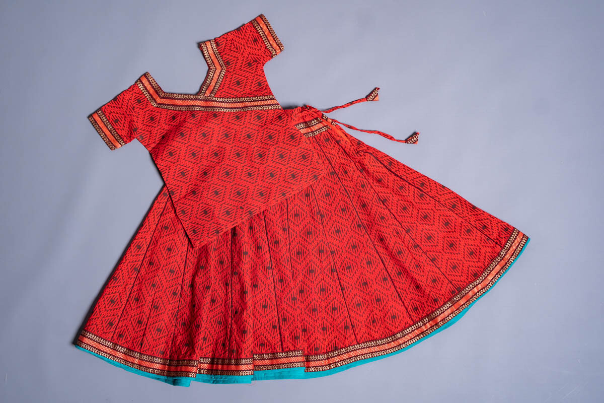 Girl's Gopi Dress Set, 2-3 years