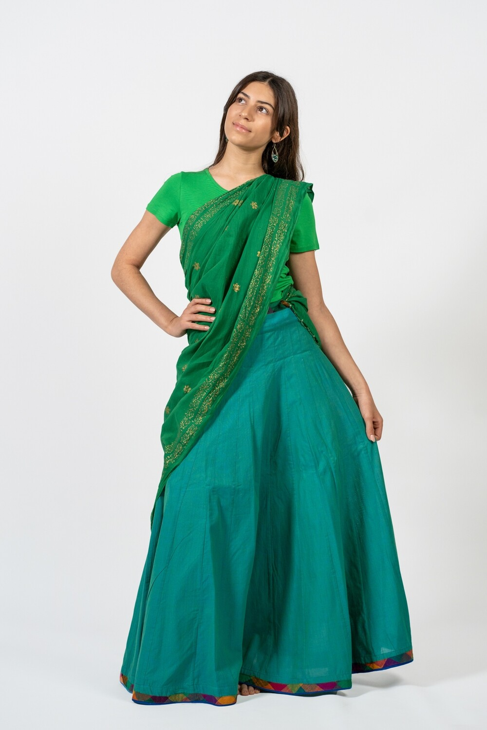 Skirts in Green, size 'S' (EU 36)
