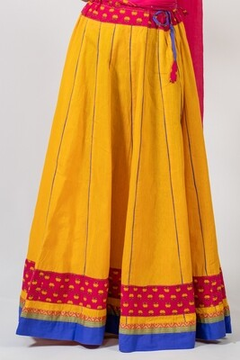 Yellow 'Festival' Skirt, size 'XL'