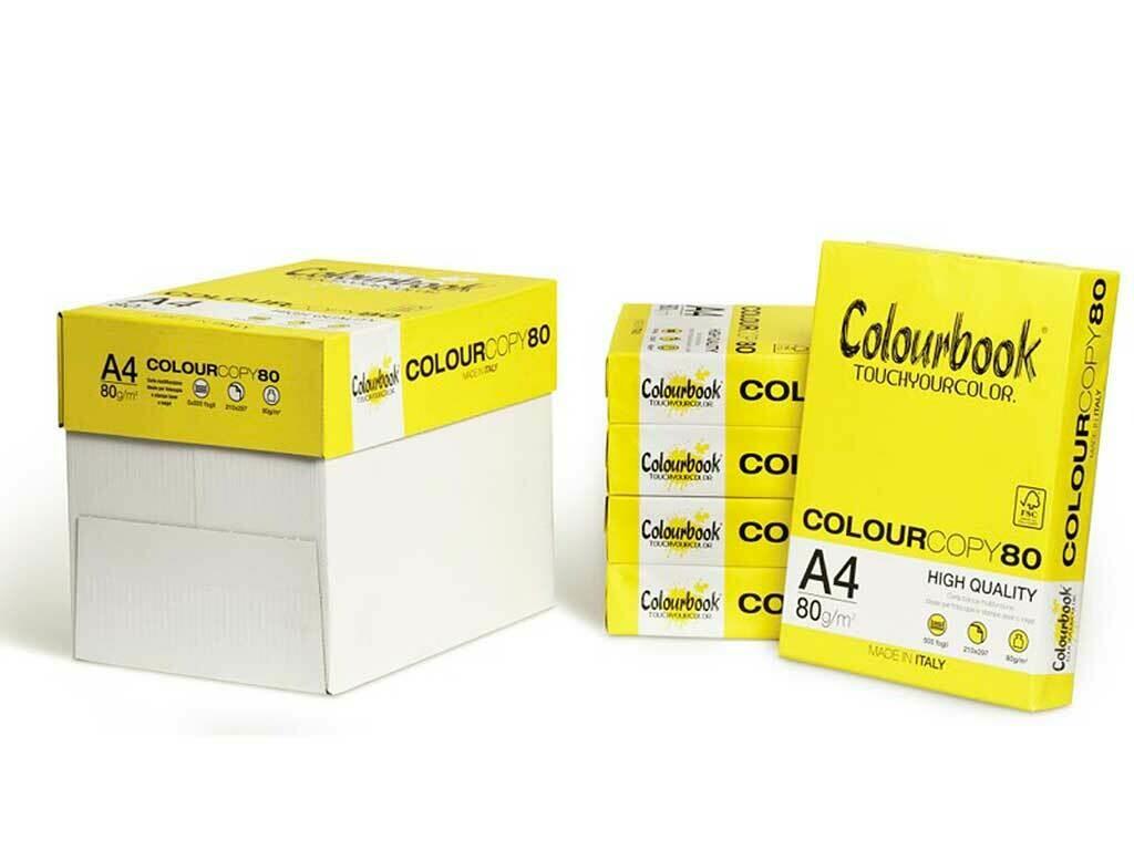 Carta Colourcopy A4 80 grammi