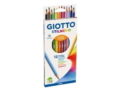 Giotto Pastelli Stilnovo 12 pezzi
