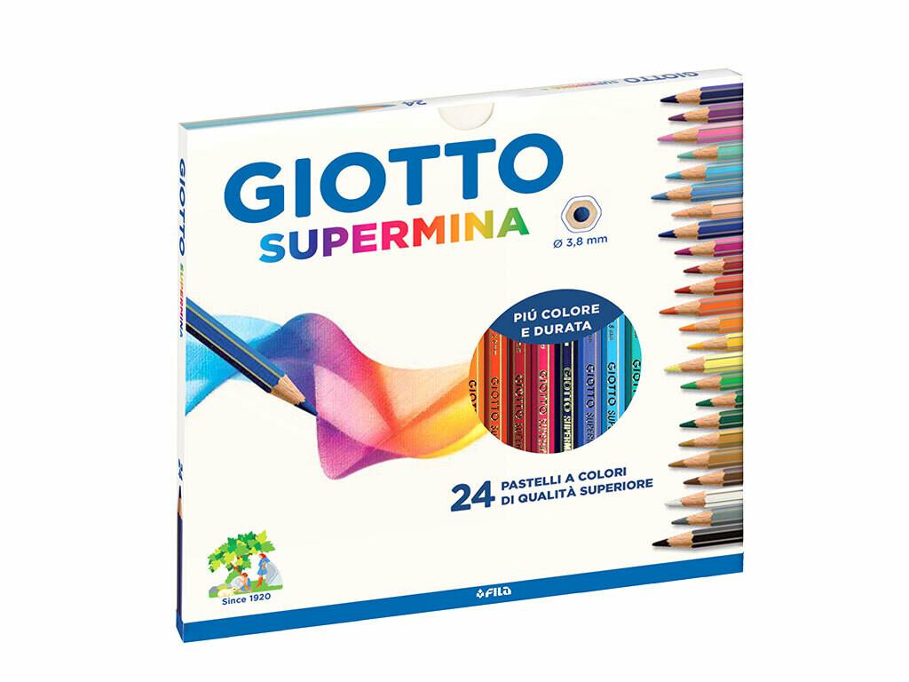 Giotto  Pastelli supermina 24 pezzi