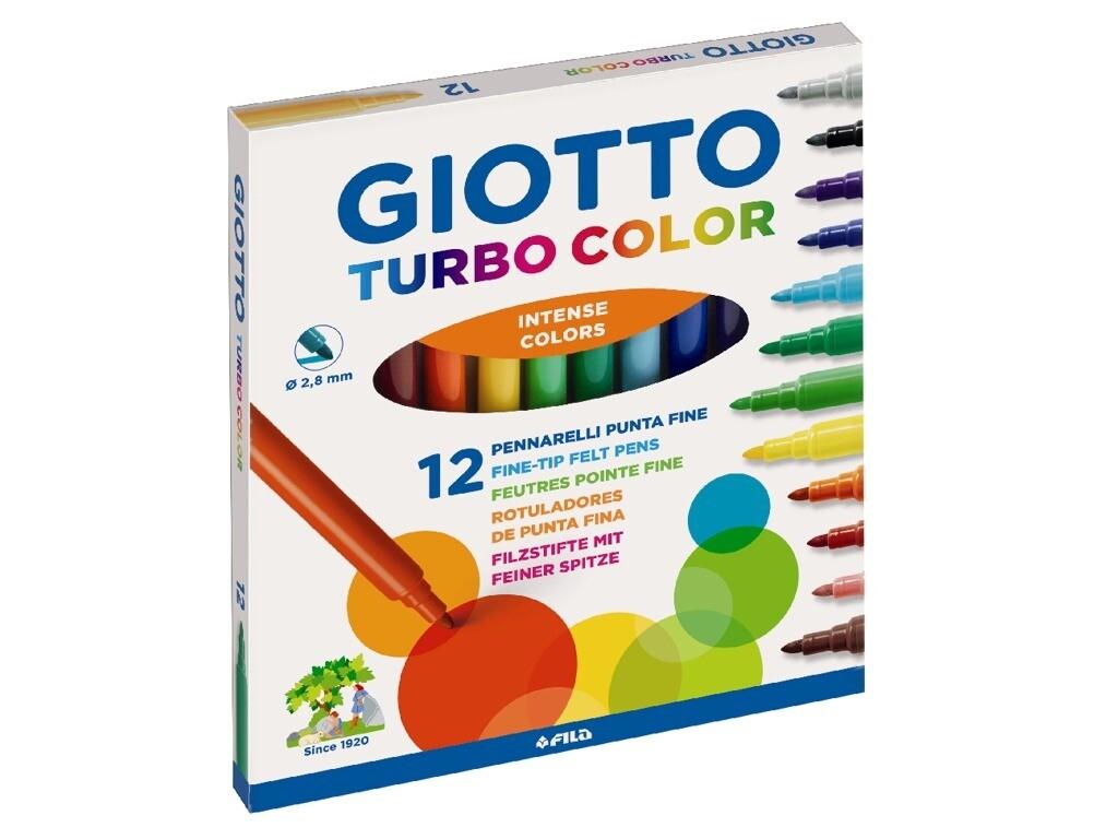 Giotto Pennarelli Turbo Color 12pz.