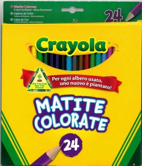 Pastelli Crayola 24 Matite colorate Craiola