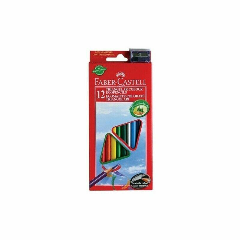Faber-castell - pastello colorato (pacchetto di 12)
