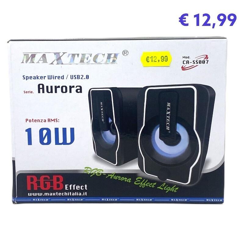 Speaker Aurora Maxtech 10w CA-SS007