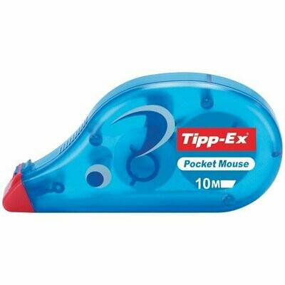 correttore a nastro bic tipp-ex poket mouse 10m
