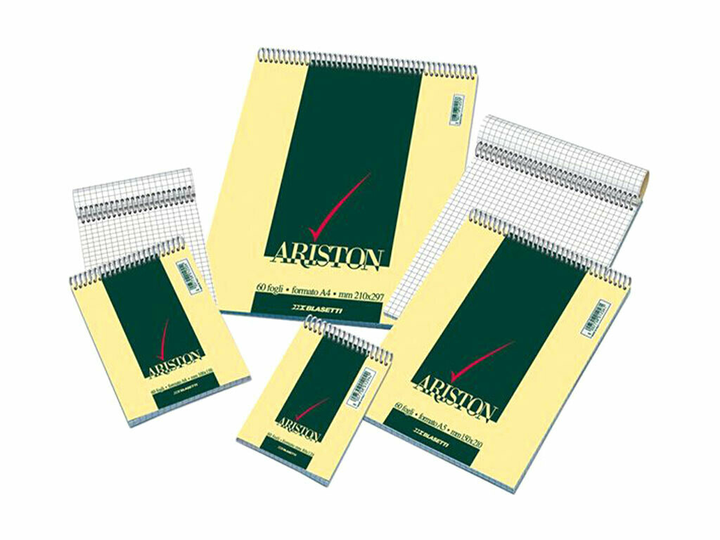 Blasetti  Notes Ariston A5 con spirale 5mm.