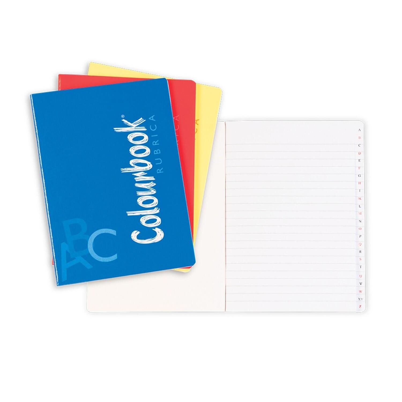 Colourbook Quaderno rubrica spillato