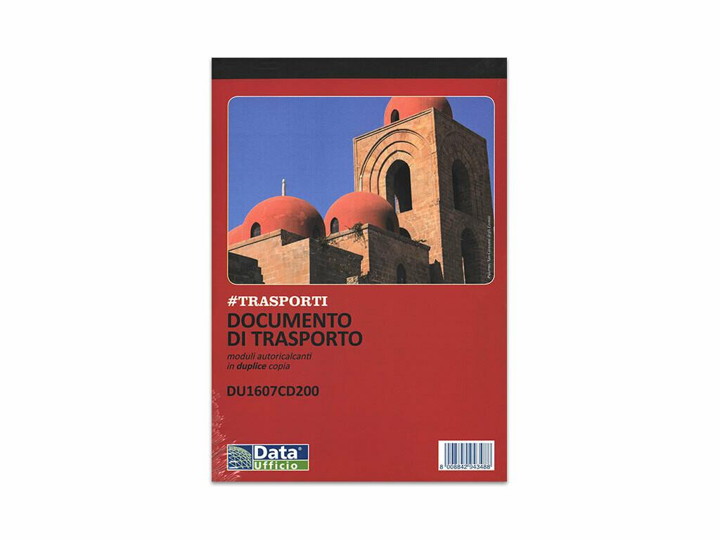 Data Ufficio Blocco D.D.T. A5 a 2 copie