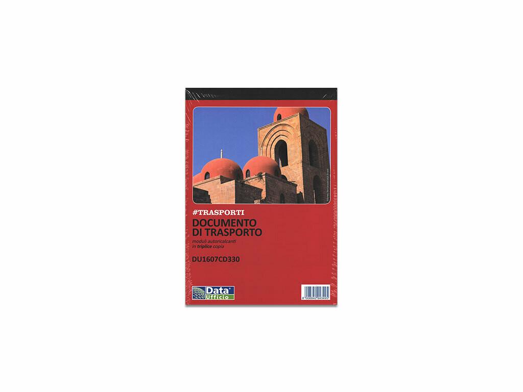 Data Ufficio Blocco D.D.T. A5 a 3 copie