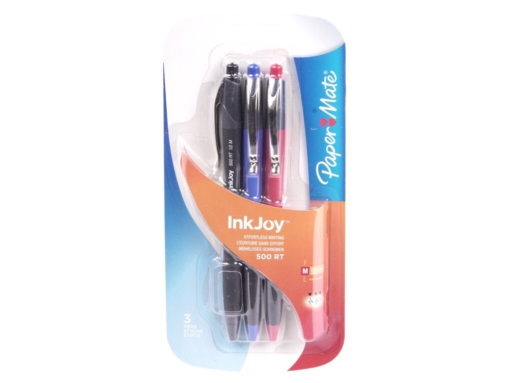 penna paperate inkjoy rt 1.0m rossa