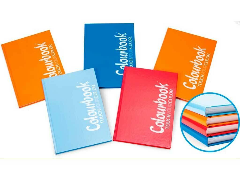 Colourbook Maxi Cartonato Plus 95 varie rigature
