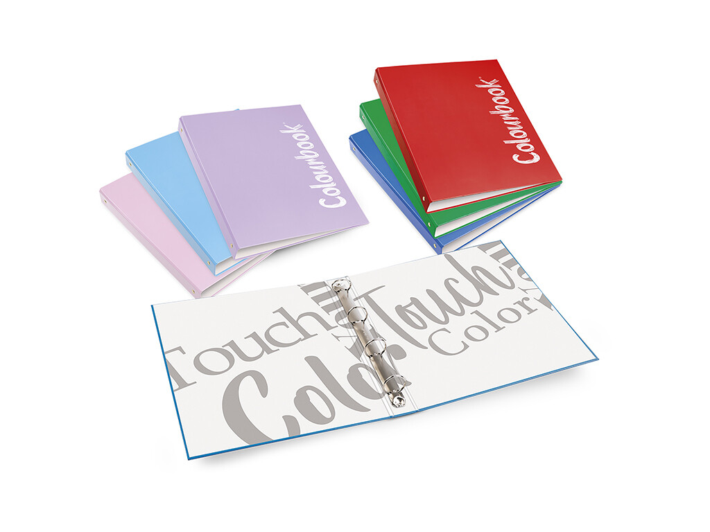 Colourbook Custodia ad anelli cartonata A5