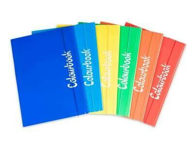 Colourbook Cartella A4 c/elastico colori ufficio