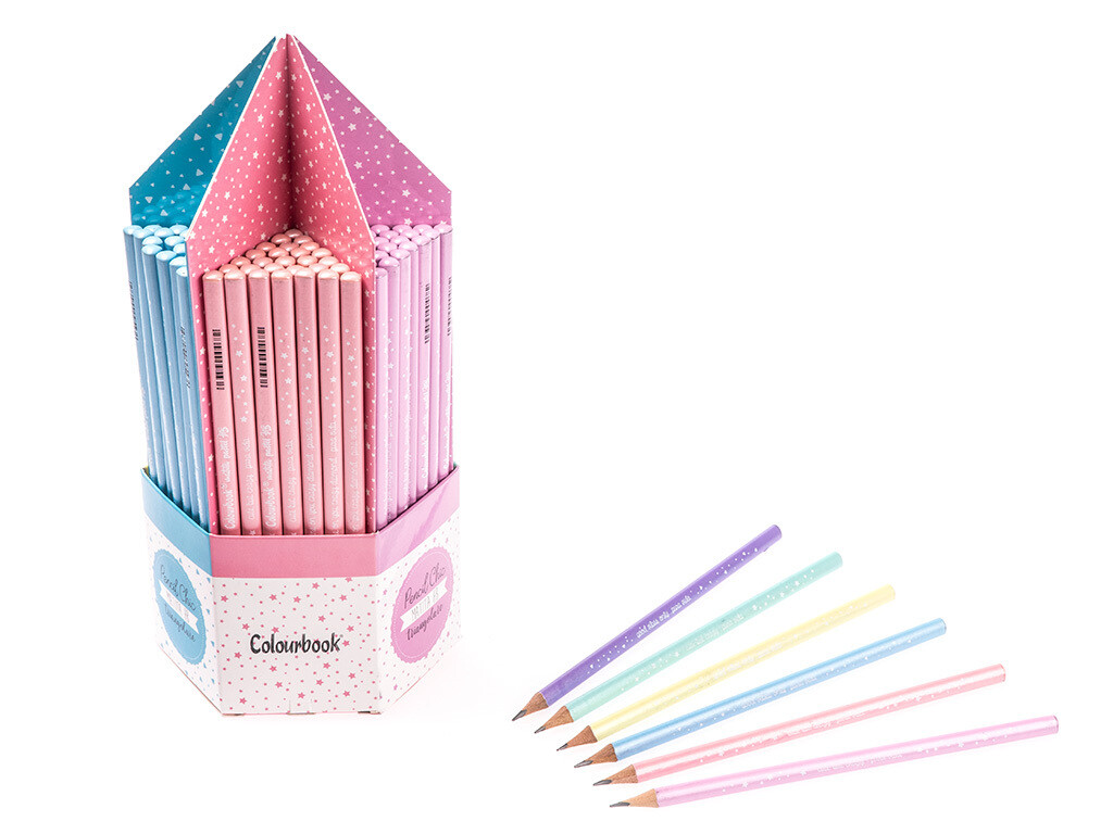 Colourbook Pencil Chic Matita HB 168pz.