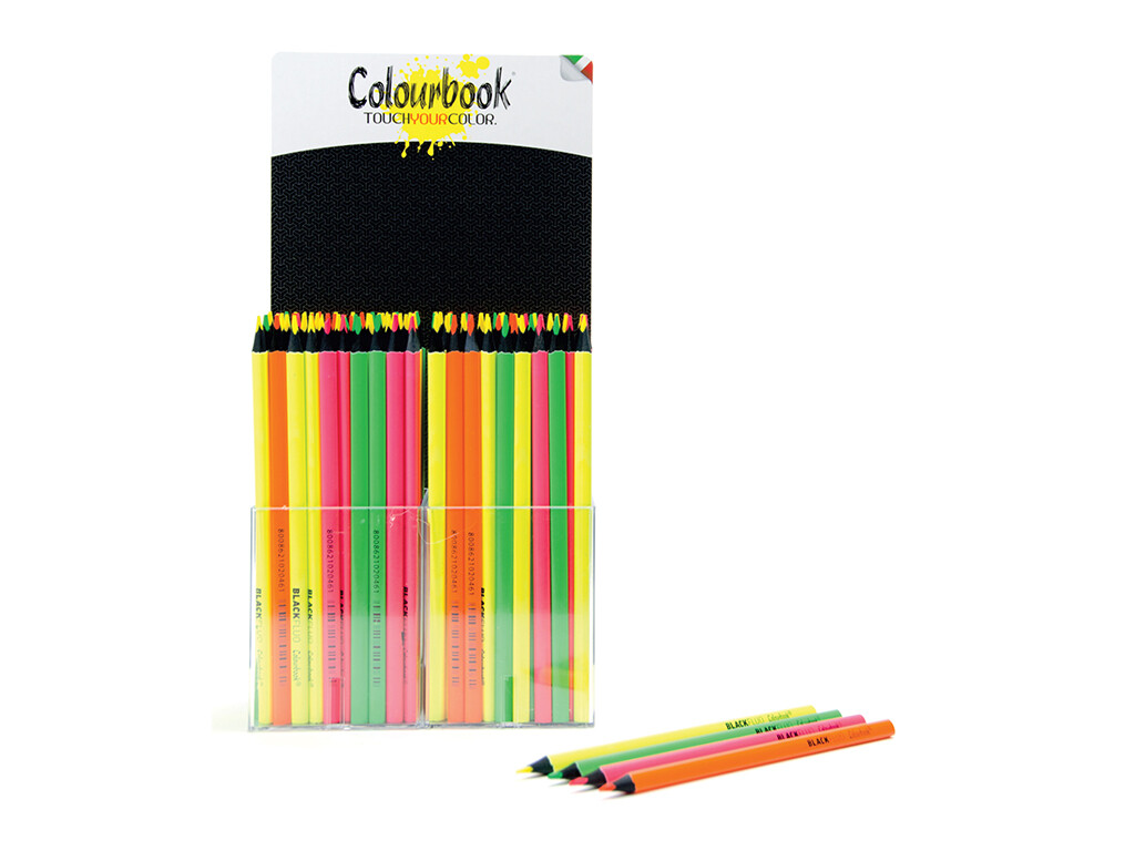 Colourbook Matita Noir-Fluo evidenziatore