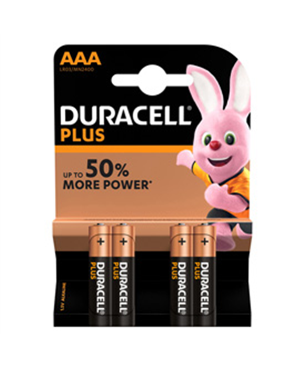 Batteria AAA duracell plus power