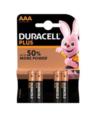 Batteria AAA duracell plus power