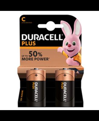 Batteria C duracell plus power