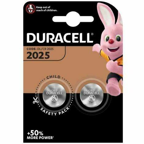 Batteria 2025 duracell plus power