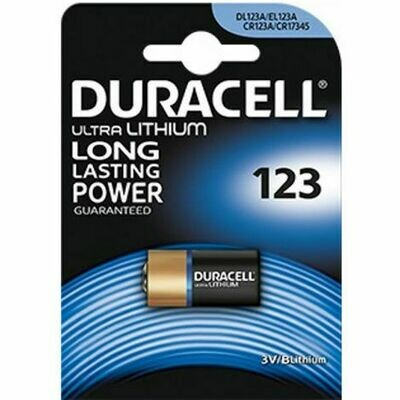 Batteria cr123 duracell