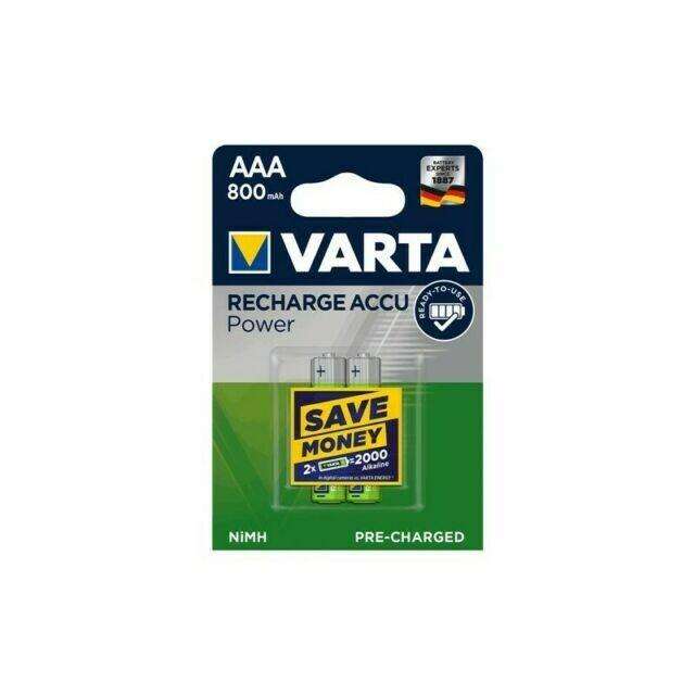 Batteria ricaricabile AAA varta