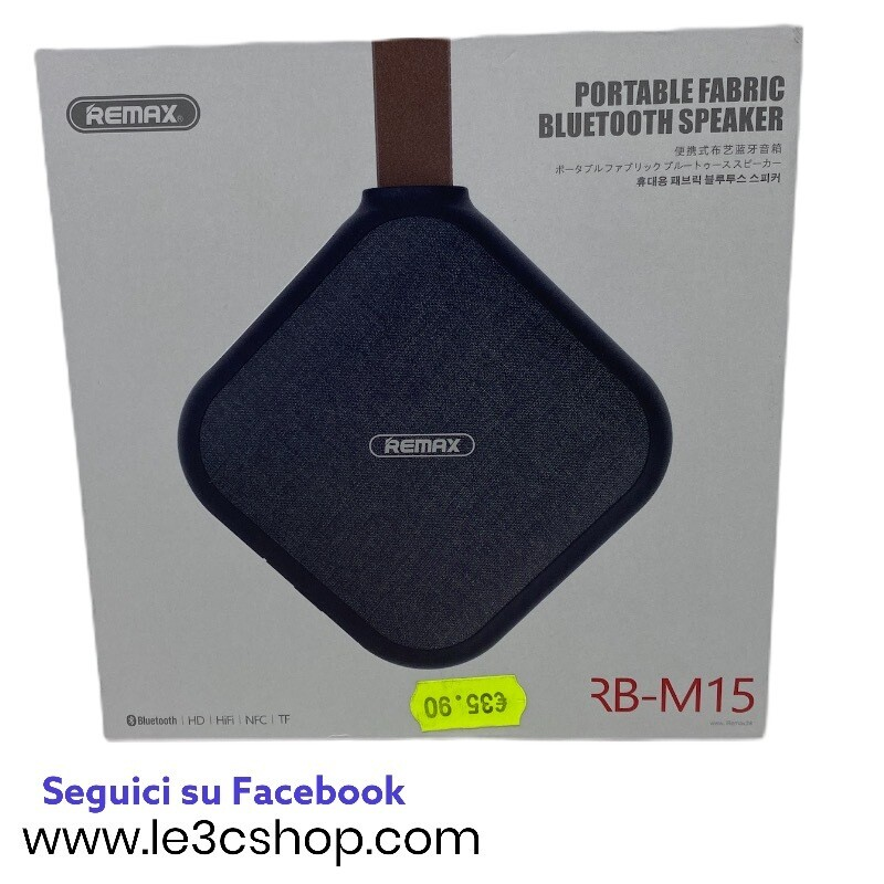 Speaker Rb M15 Bluetooth
