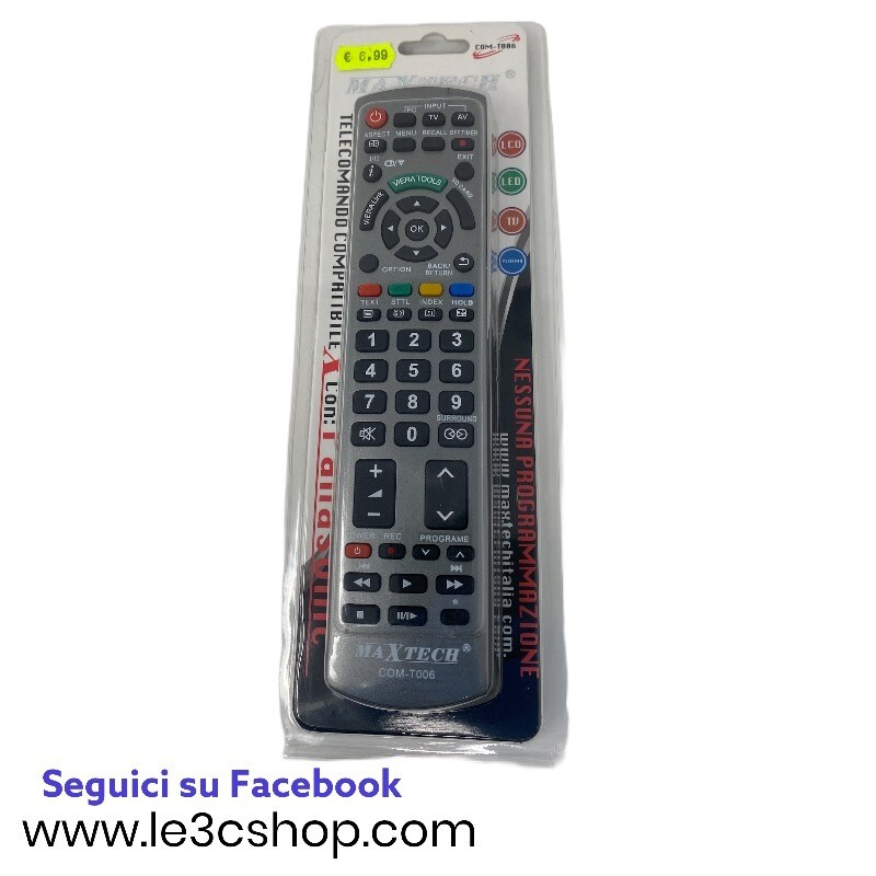 Telecomando Panasonic
