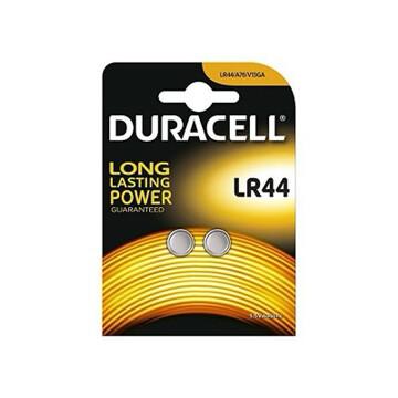 Batteria lr44 duracell plus power