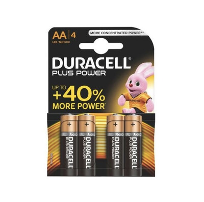 Batteria AA duracell plus power