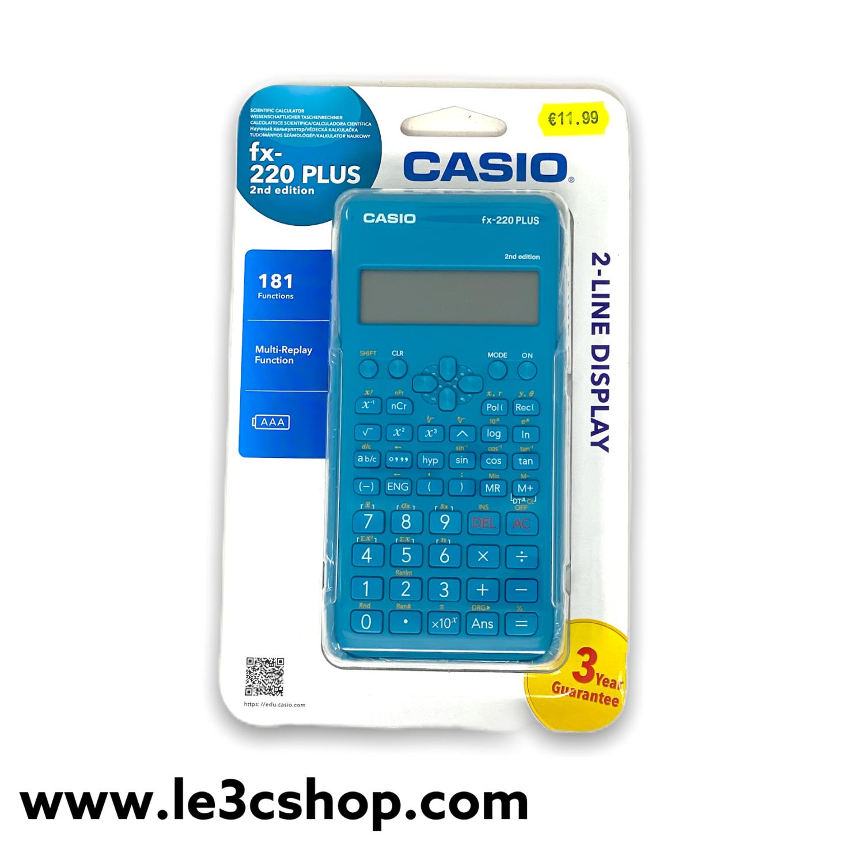 Calcolatrice Casio fx-220 plus 2nd edition