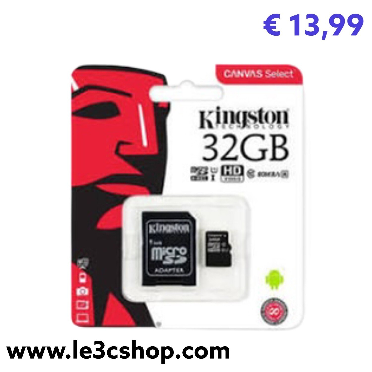 Sd Kingstone 32 Gb Classe 10