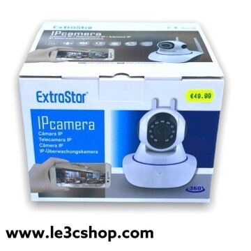 Videocamera Ip cam Extrastar 2 Antenne Wifi