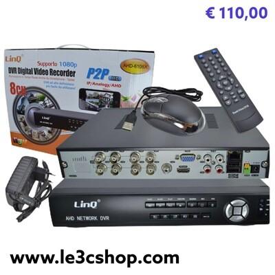 Dvr Ahd 8 Canali Linq 1080p